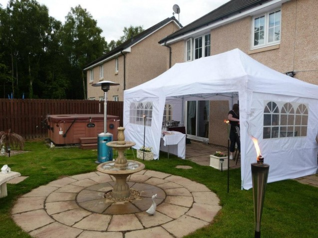 Party tent hire Scotland