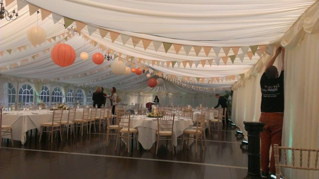 Chinese Lantern Wedding Decorations Hilton Dunkeld