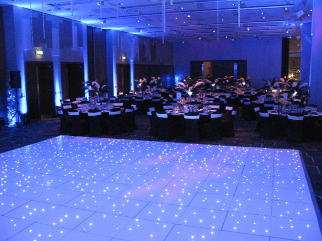 LED dance floor hire Scotland