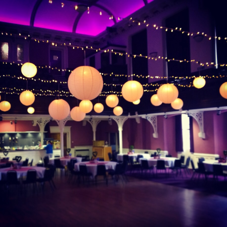 Alloa Town Hall Wedding Decorations Party People